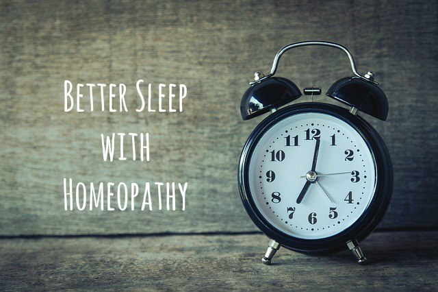Better Sleep With Homeopathy