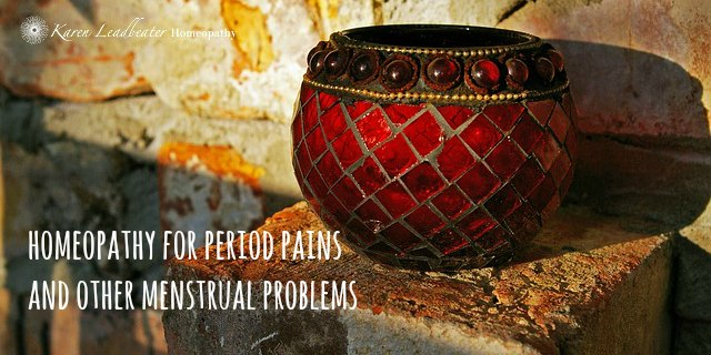 Homeopathy for Period Pains and other Menstrual Problems