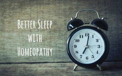 Better Sleep With Homeopathy