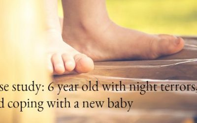 Case study: night terrors, and coping with a new baby