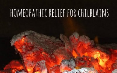 Homeopathic Relief for Chilblains
