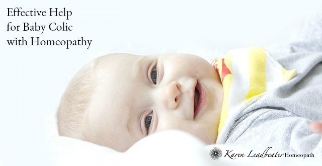 Effective Help for Baby Colic with Homeopathy