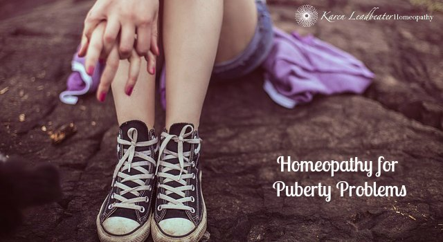 Homeopathy for Puberty Problems