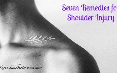 Seven Remedies for Shoulder Injury