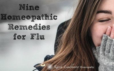 Nine Homeopathic Remedies for Flu